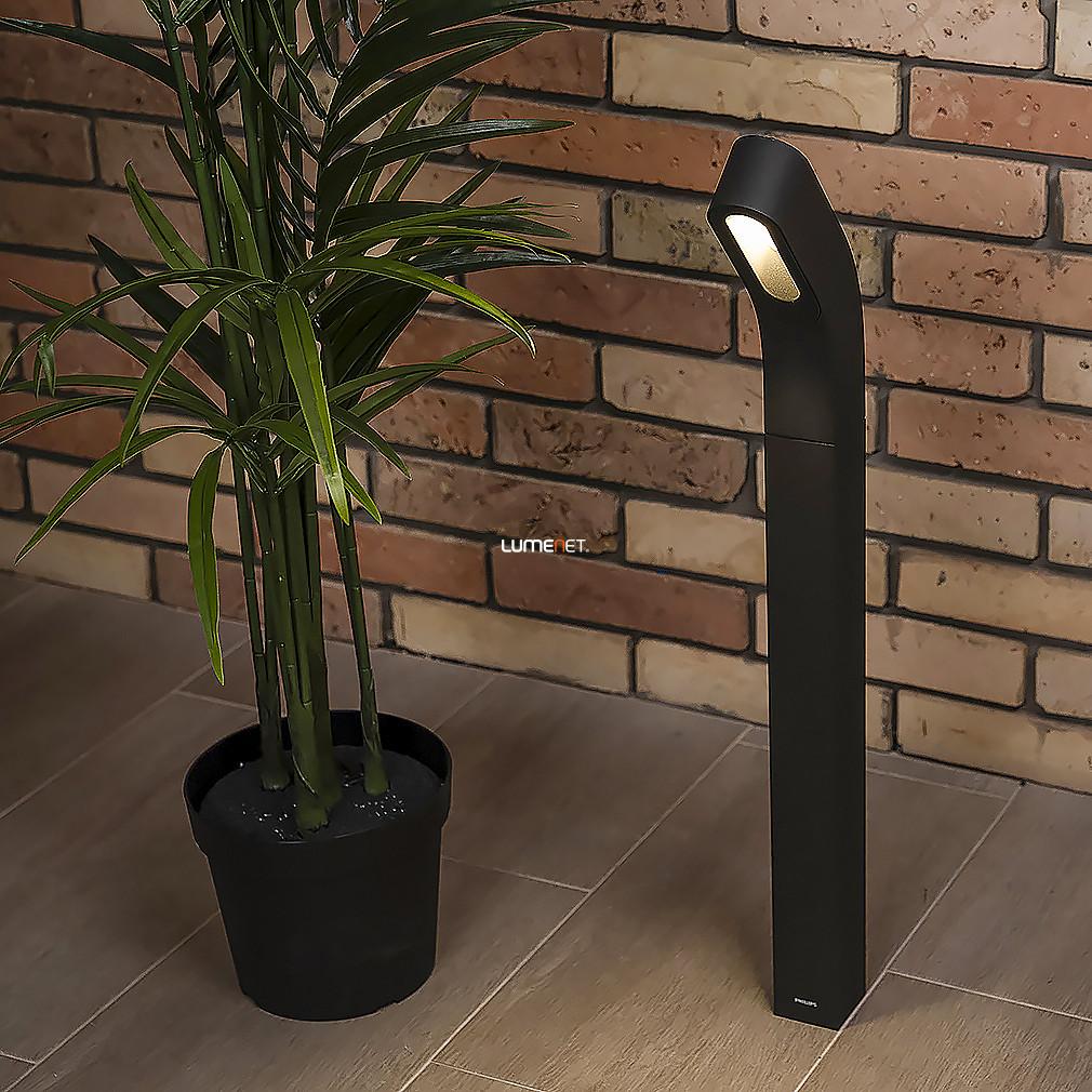 Philips 16254/93/16 Dunetop kültéri oszlopos LED lámpa 6,5W 210lm IP44 85° 20000h 800x60x163mm