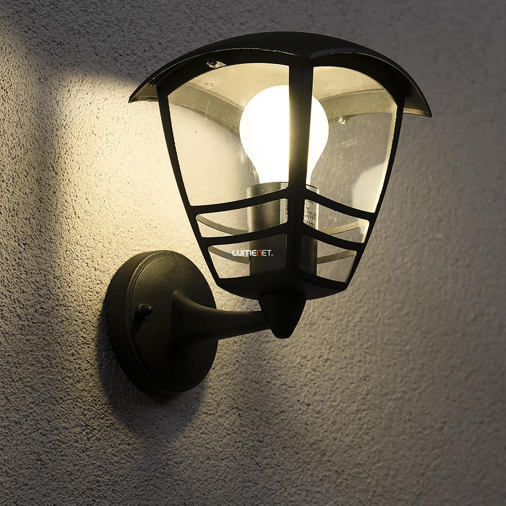 PHILIPS 15380/30/16 Creek fali lámpa fekete 1xE27 max 60W