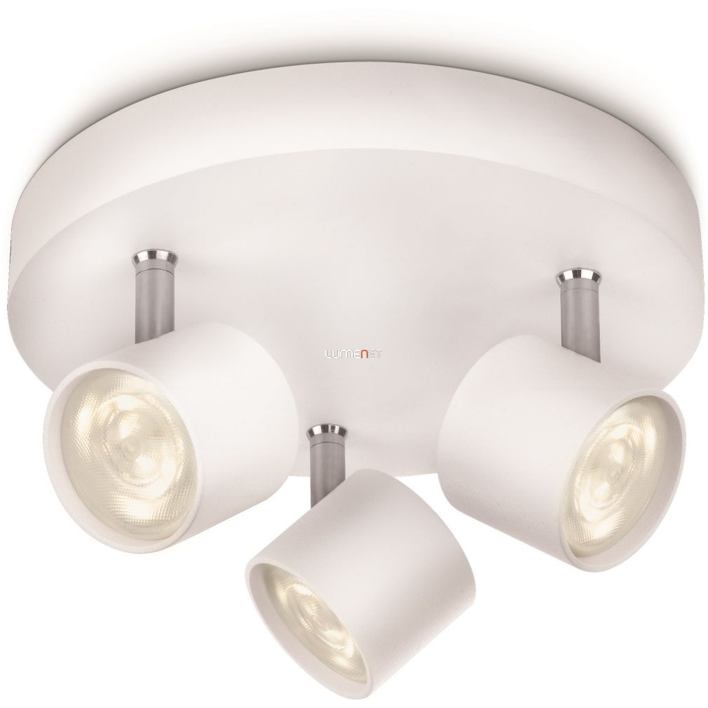 PHILIPS 56243/31/16 STAR plate/spiral LED fehér 3x3W