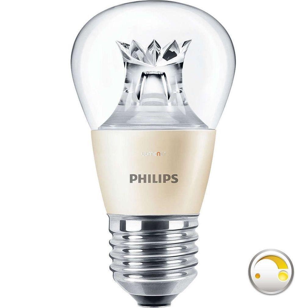 PHILIPS MASTER LEDlustre DimTone 6W E27 827 WW P48 CL - 2015/16 széria