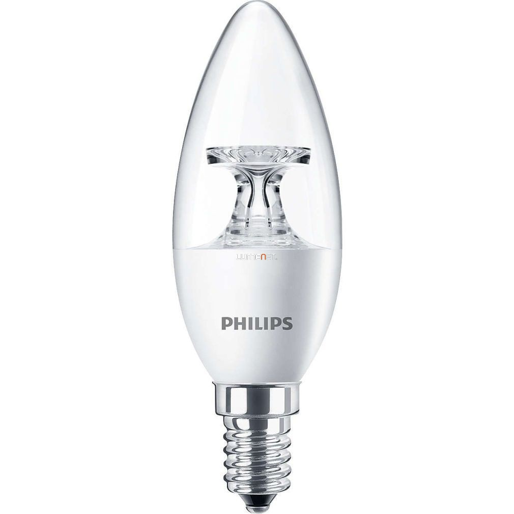PHILIPS Corepro candle ND 5,5W E14 827 2700K B35 CL gyertya LED - 2015/16