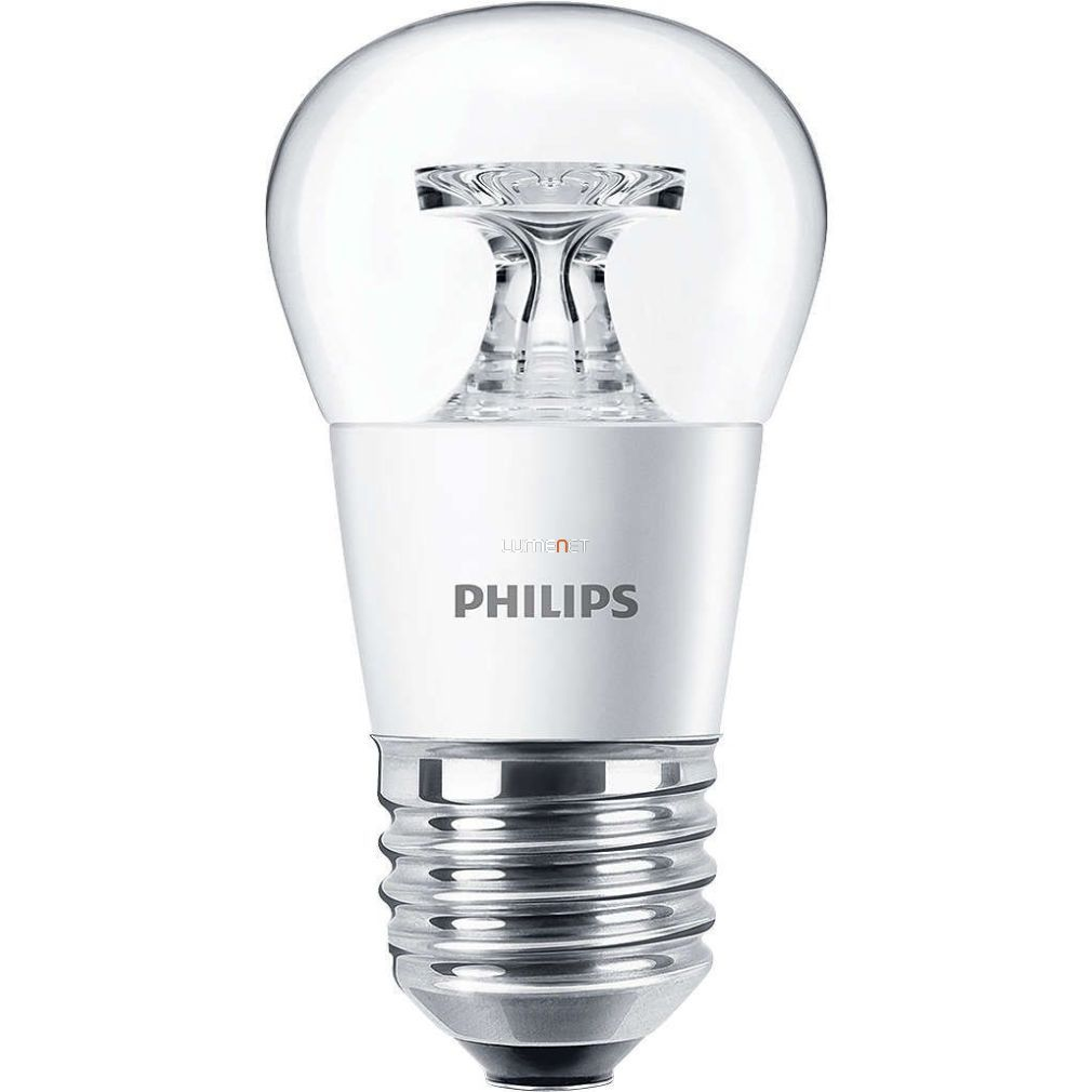 PHILIPS CorePro Lustre ND 4W E27 827 P45 CL kisgömb LED - 2015/16 széria