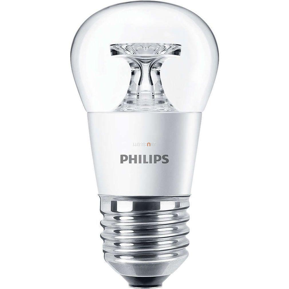 PHILIPS CorePro Lustre ND 4W E27 827 P45 CL kisgömb LED