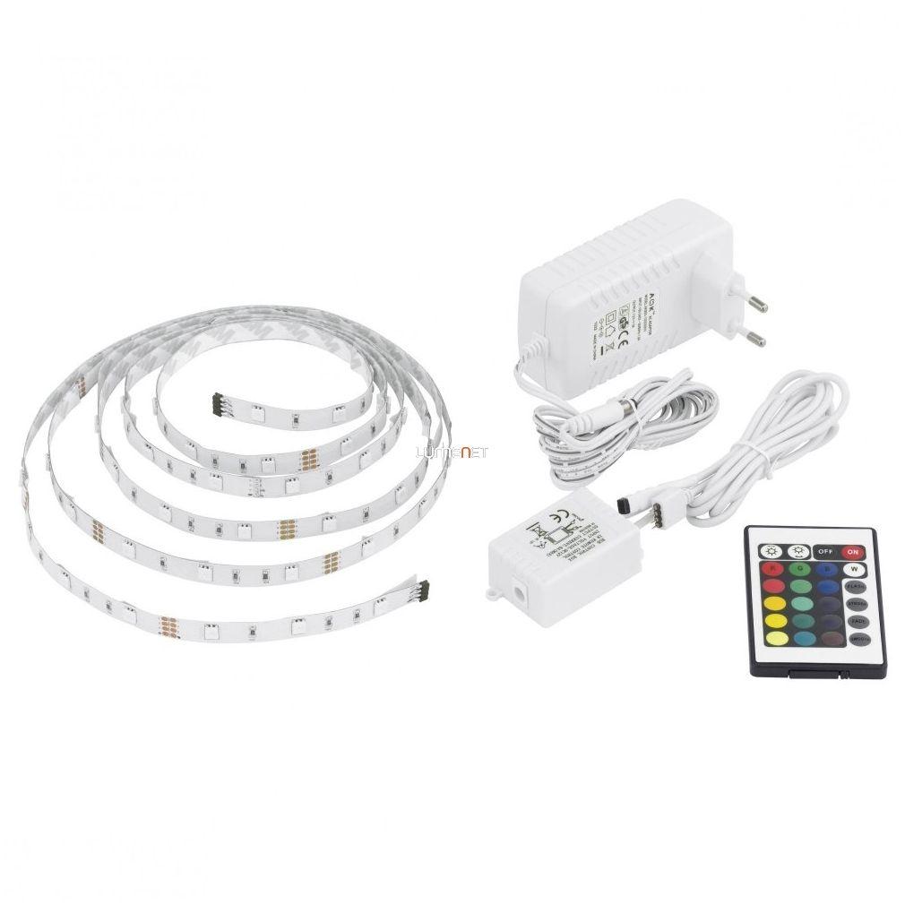 EGLO 13532 LED-es fénysor 3m 30db RGB LED/m+távir