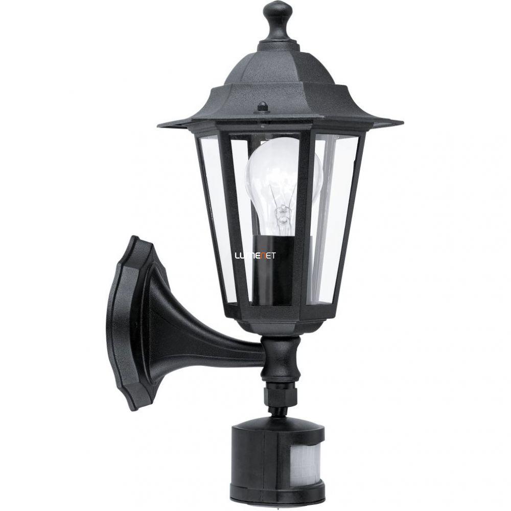 EGLO 22469 Kültéri fali lámpa 1xE27 max.60W szenzoros fekete Laterna4