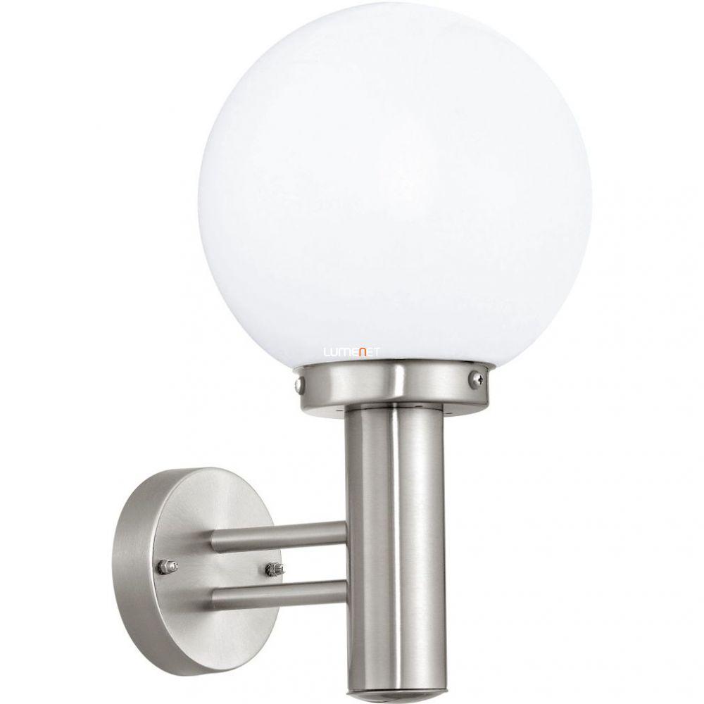EGLO 30205 Kültéri fali lámpa 1xE27 max.60W nemesacél Nisia