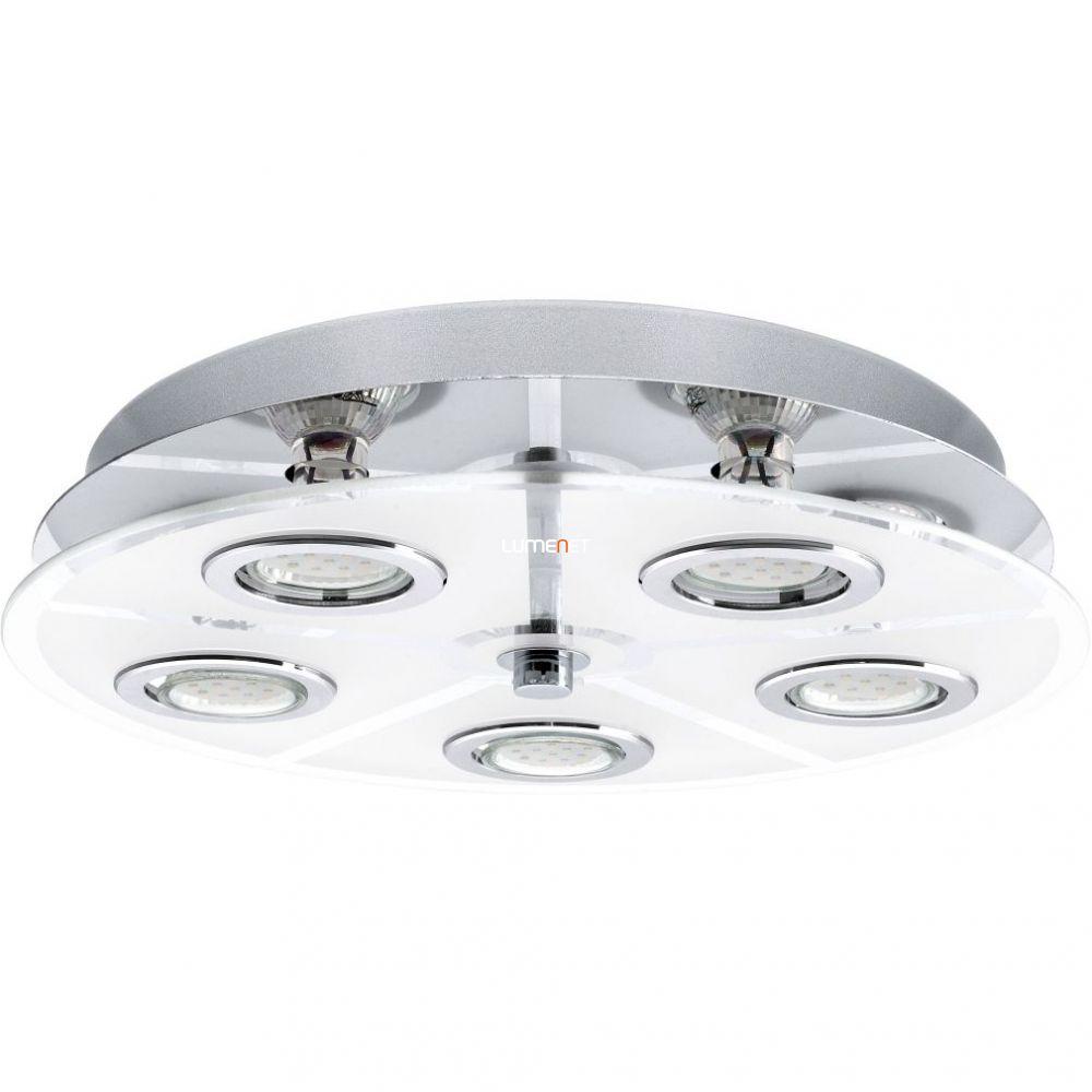 EGLO 30933 Mennyezeti lámpa 5xGU10 3W LED kr, szatén üveg kerek d:35cm Cabo