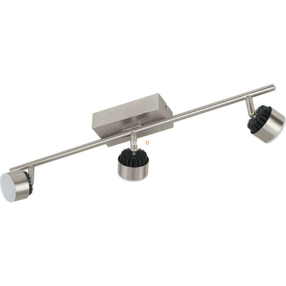 EGLO 31483 LED-es fali/Mennyezeti lámpa 3x6W matt nikkel/fekete Armento