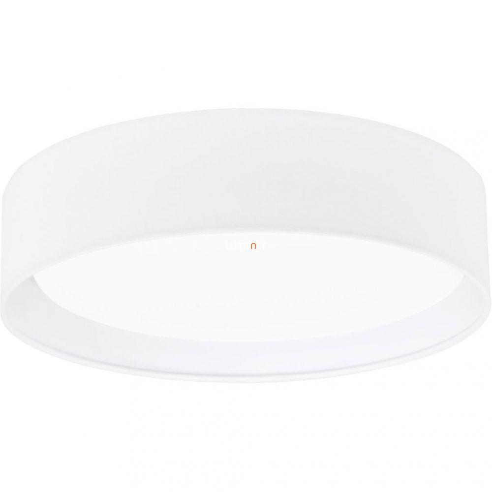 Eglo 31588 Pasteri fehért textil mennyezeti LED lámpa ø32cm