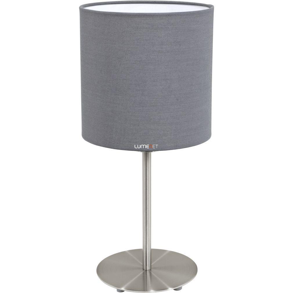EGLO 31596 Textil Asztali lámpa 1xE27 max. 60W szürke Pasteri