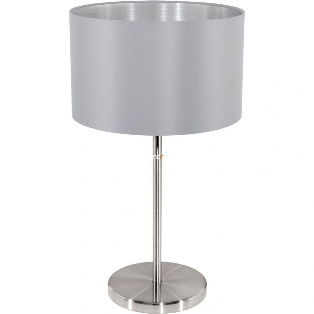 Eglo 31628 Maserlo szürke textil asztali lámpa 1xE27 foglalattal