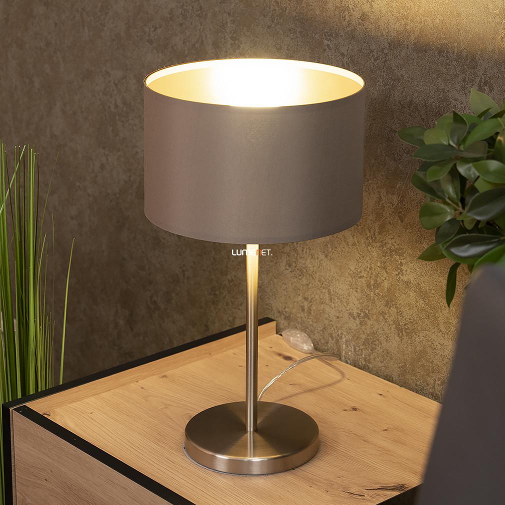 EGLO 31629 Textil Asztali lámpa 1xE27 max. 60W szürkésbarna Maserlo