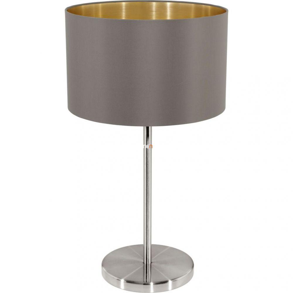 EGLO 31631 Textil asztali lámpa E27 60W cappucc. Maserlo