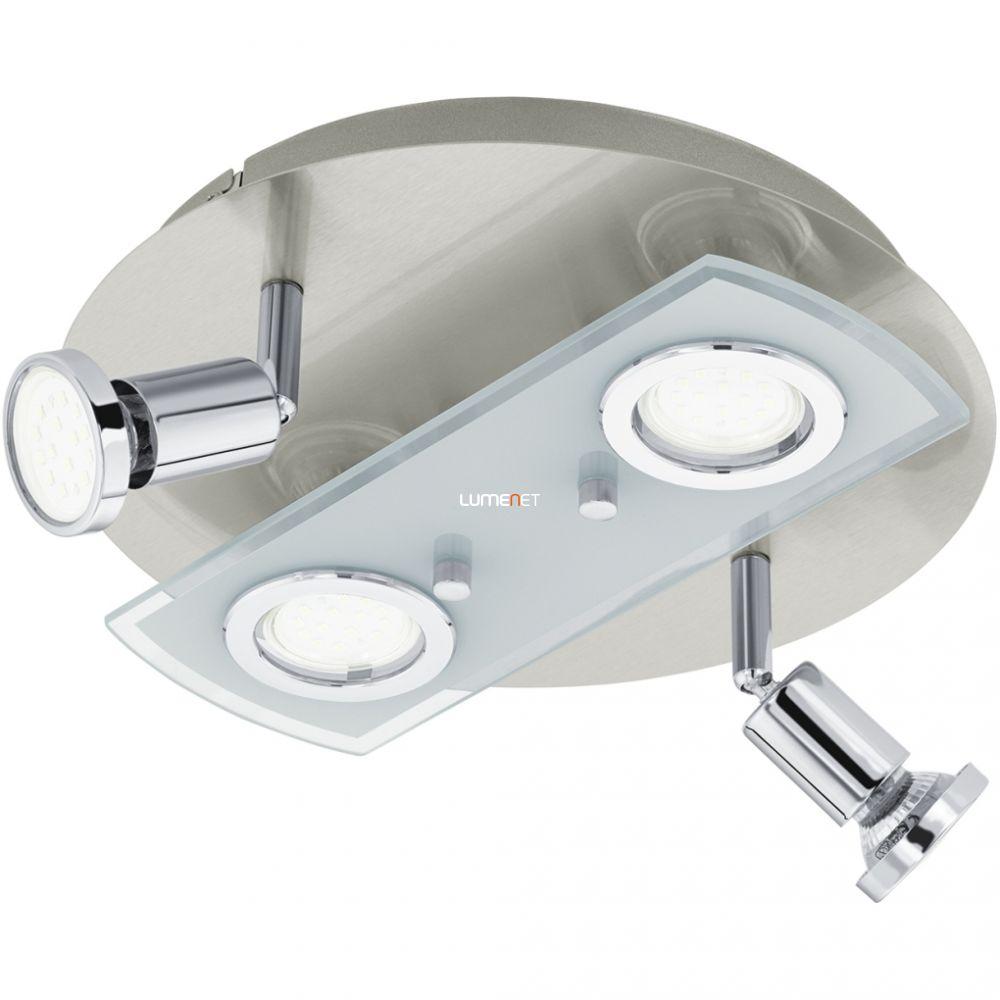EGLO 32001 LED-es mennyezeti lámpa GU10 4x3W matt nikkel/króm Pawedo
