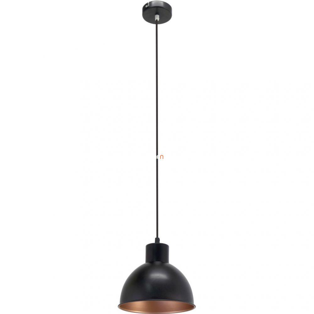 EGLO 49238 Függeszték 1xE27 max. 60W fekete 21cm Truro 1