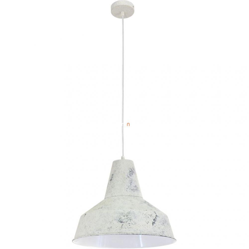 EGLO 49249 Függeszték 1xE27 max. 60W fehér 35cm Somerton