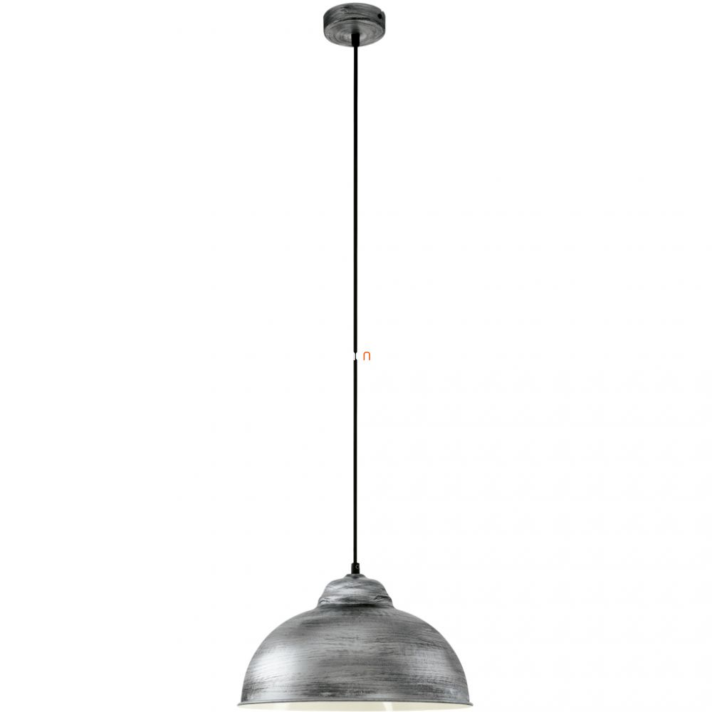 EGLO 49389 függeszték 1xE27 max. 60W 37cm antik ezüst Truro 2