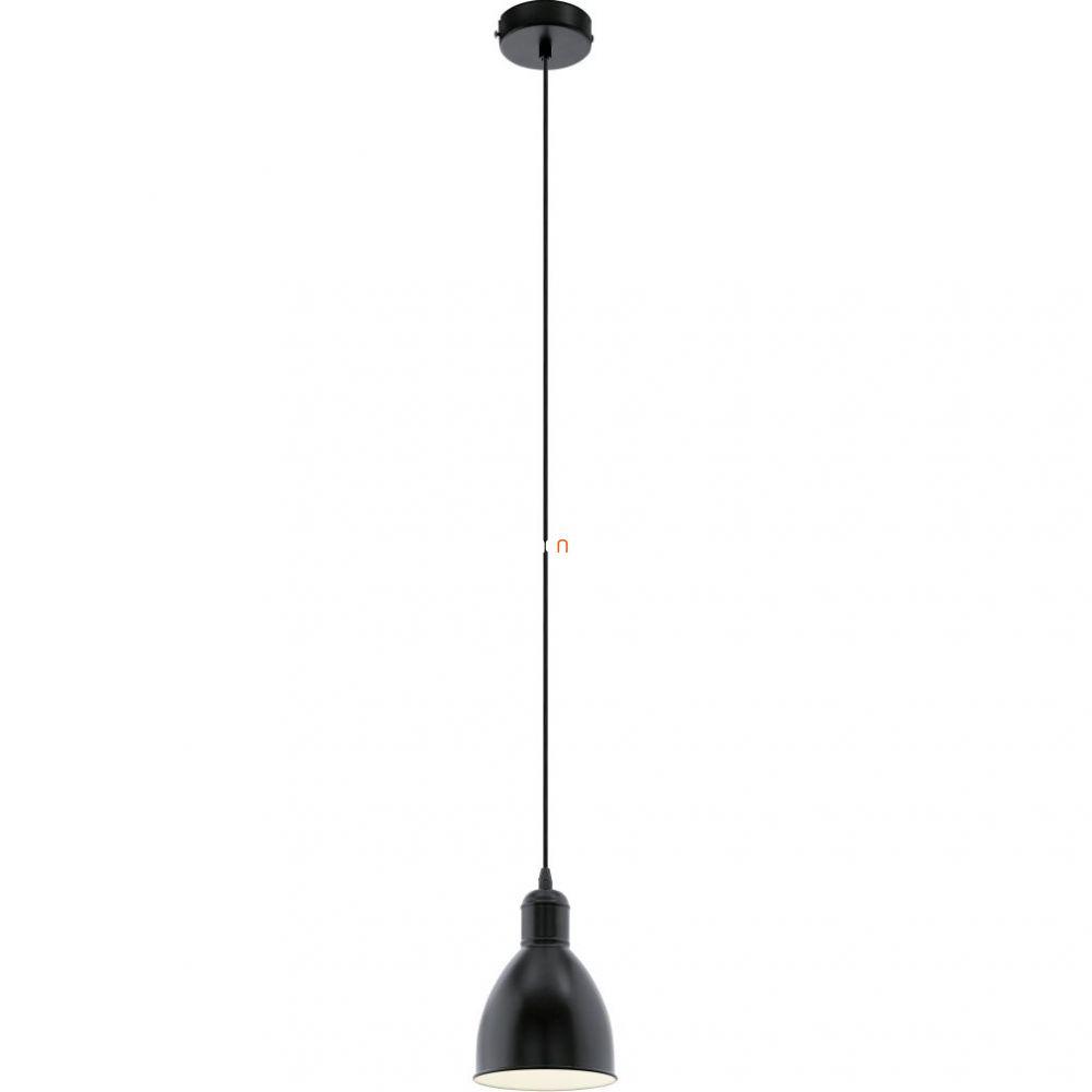 EGLO 49464 függeszték E27 60W 15,5cm fekete Priddy
