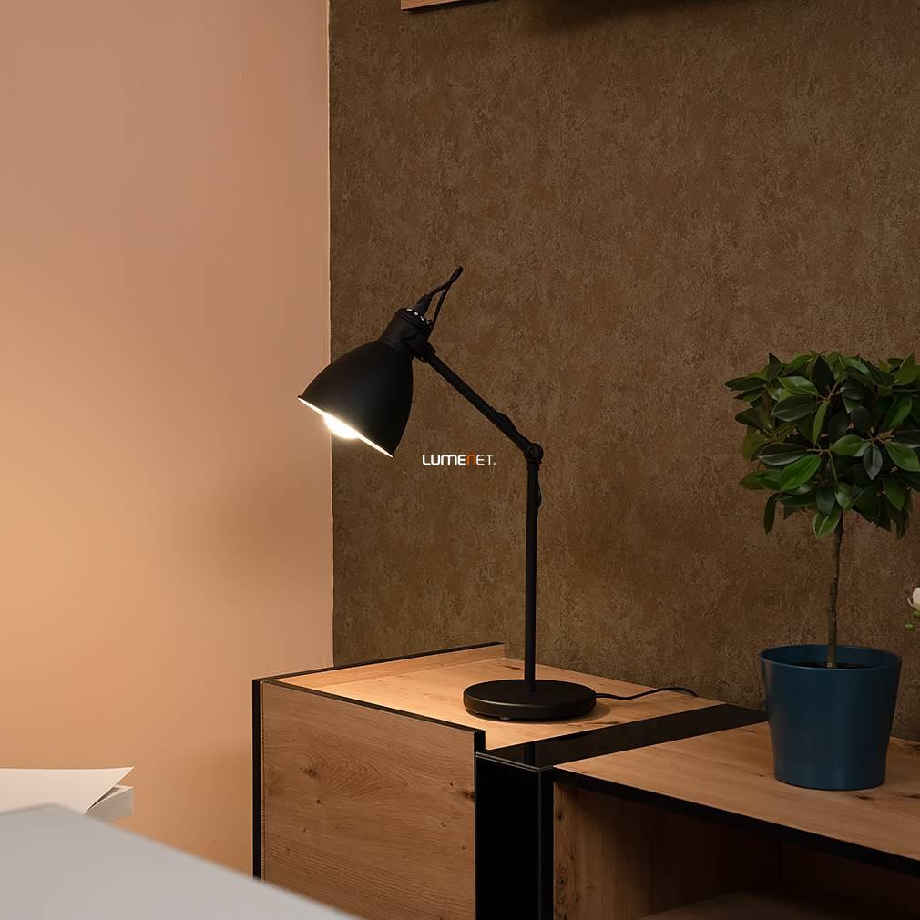 EGLO 49469 Asztali lámpa 1xE27 max. 40W fekete Priddy