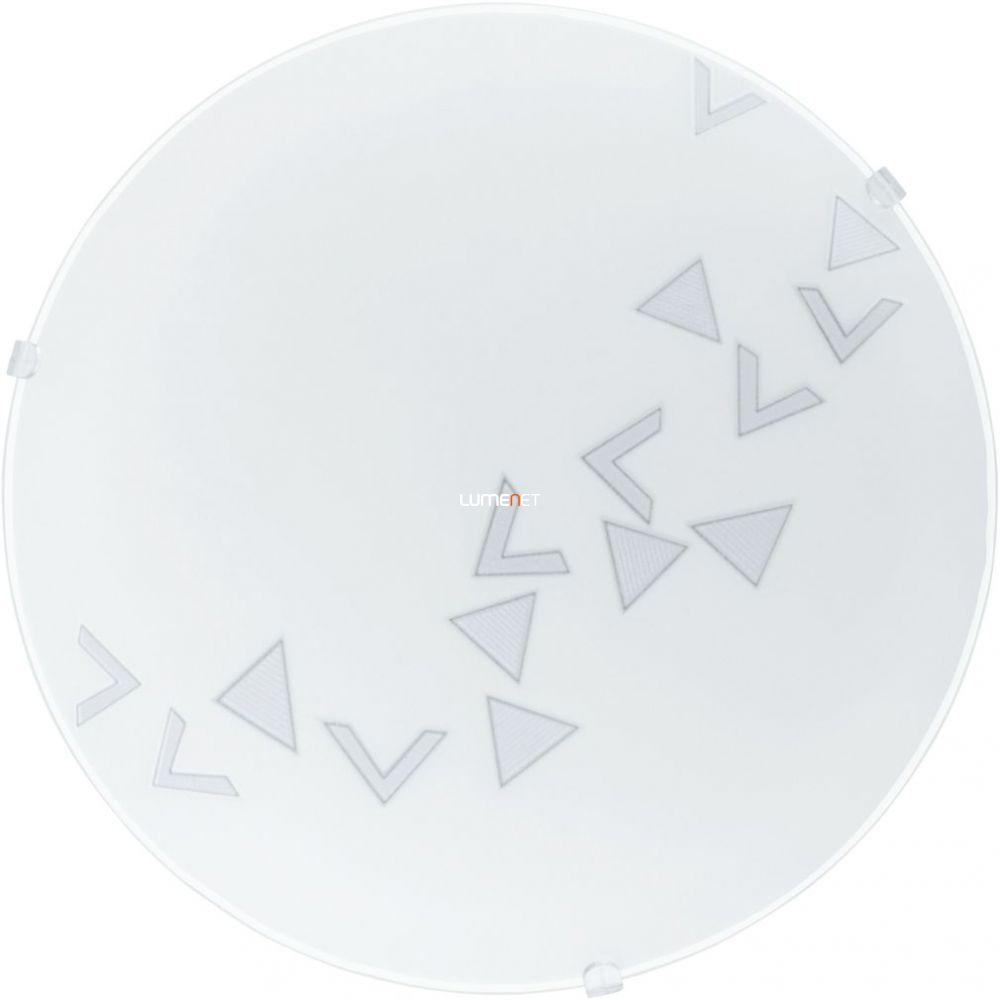 EGLO 80263 Mennyezeti lámpa 1xE27 max. 60W átm:24,5cm háromszög minta Mars