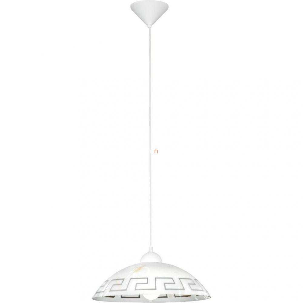 EGLO 82786 függeszték  E27 1x60W fehér/antik Vetro