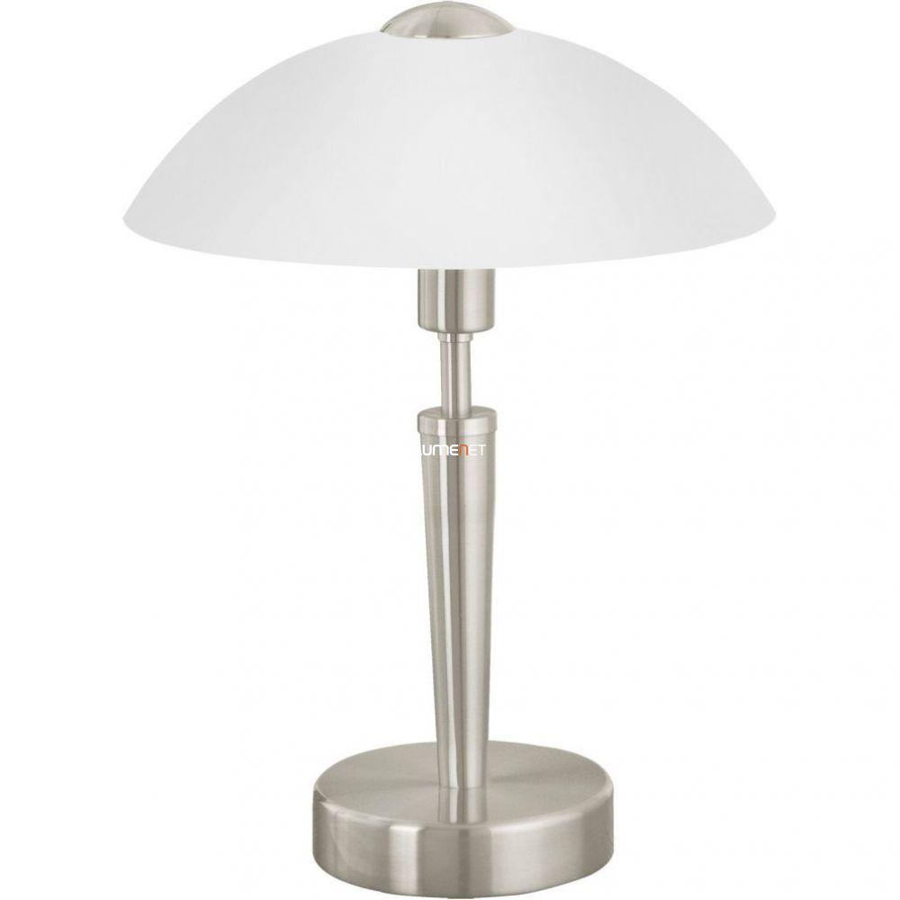 EGLO 85104 asztali E14 1*60W 35cm m.nikkel Solo 1