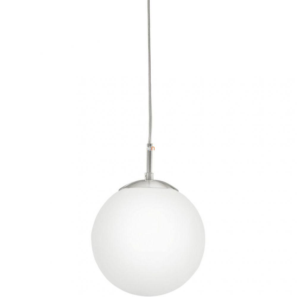 EGLO 85261 függeszték E27 1x60W átm:20cm matt nikkel/opál Rondo