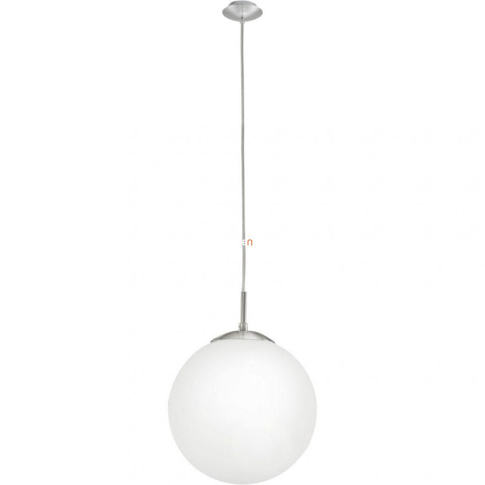 EGLO 85262 függeszték E27 1x60W átm:25cm matt nikkel/opál Rondo