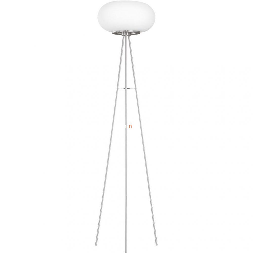 EGLO 86817 Álló 2x60W E27 mag:157cm matt nikkel/opál Optica