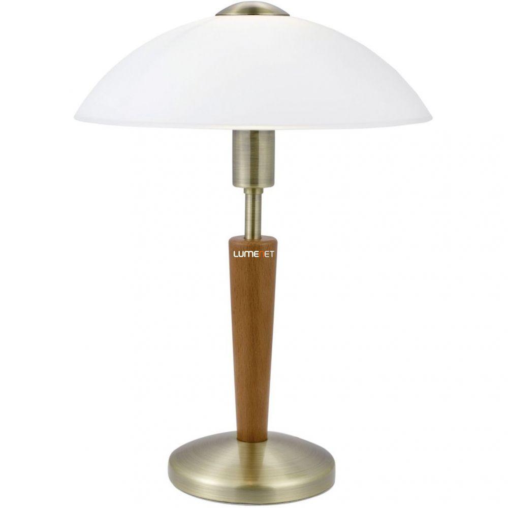 EGLO 87256 Asztali lámpa 1xE14 max. 60W bronz/dió érintőkapcsoló Solo 1