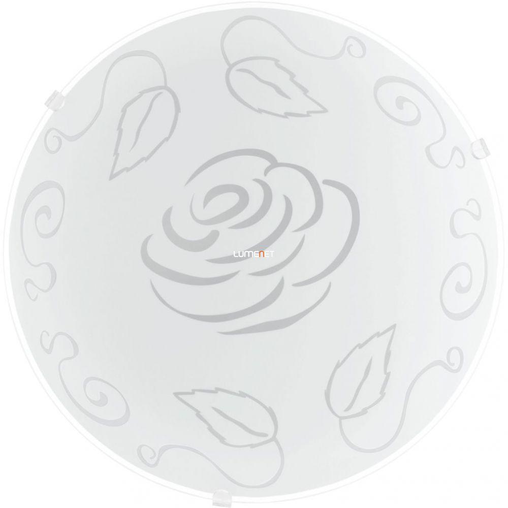 EGLO 89238 Mennyezeti lámpa E27 1x60W átm:25cm rózsa Mars 1