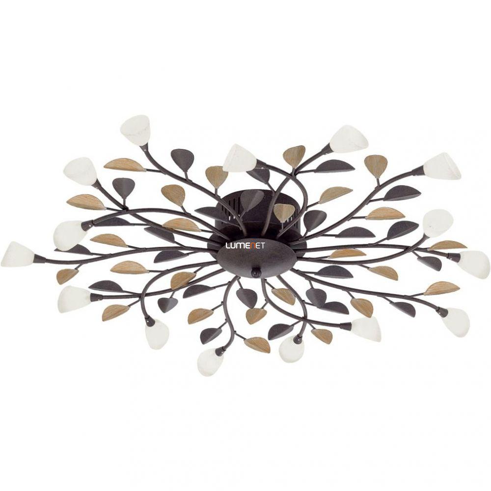 EGLO 90737 Mennyezeti lámpa 10xG4 10W antik barna/fehér Campania