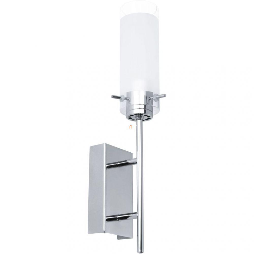 EGLO 91547 LED-es fali lámpa 1x6W króm/szatén üveg Aggius