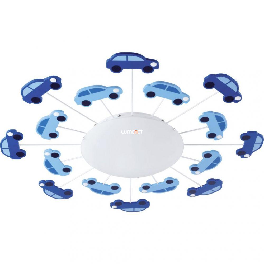 EGLO 92146 Fali/Mennyezeti lámpa E27 1x60W kék autó Viki 1