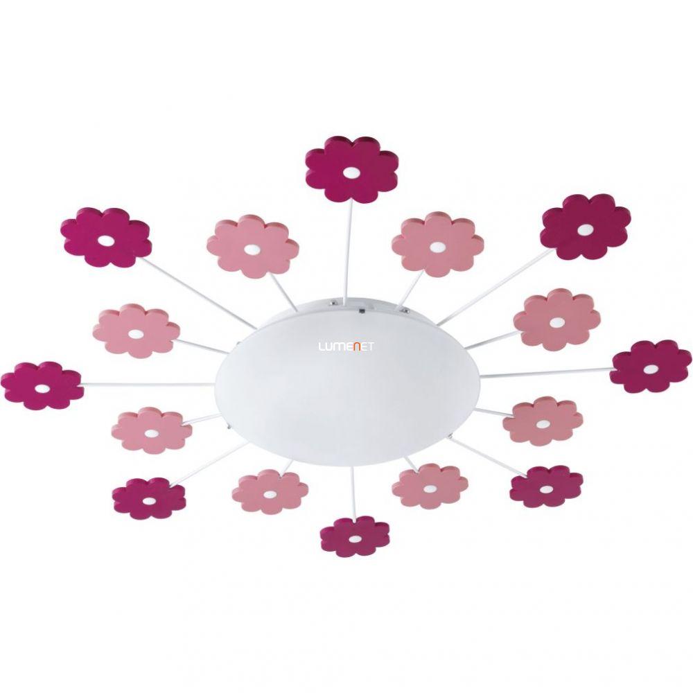 EGLO 92147 Fali/Mennyezeti lámpa E27 1x60W rózsaszín virág Viki 1