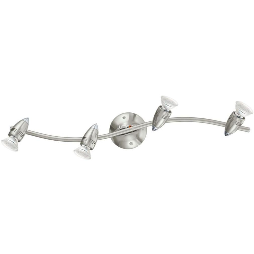 EGLO 92644 LED-es Mennyezeti lámpa GU10 4x3W matt nikkel/króm Magnum-LED