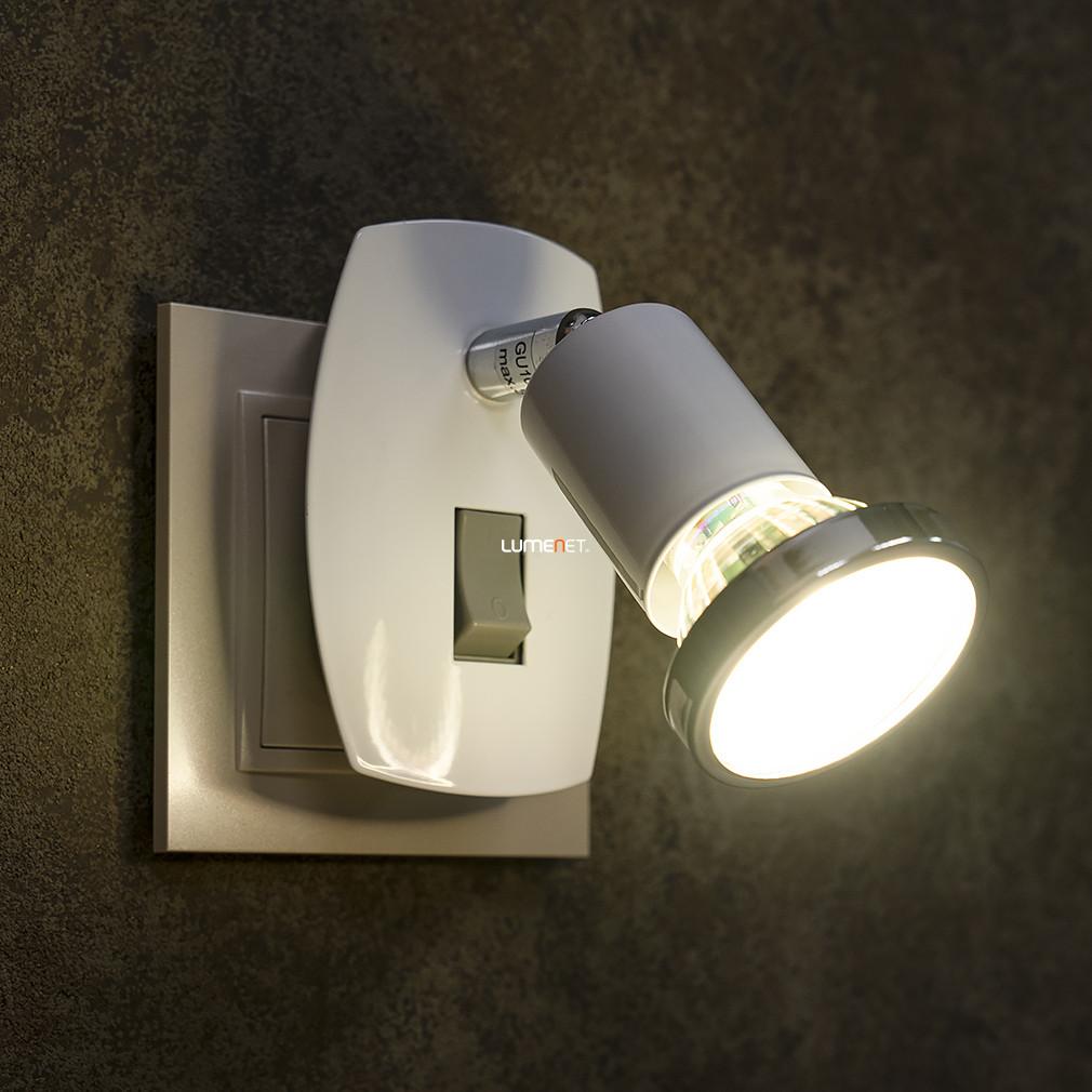 EGLO 92925 LED dugszpot GU10 2,5W króm/fehér 7x10cm Mini 4
