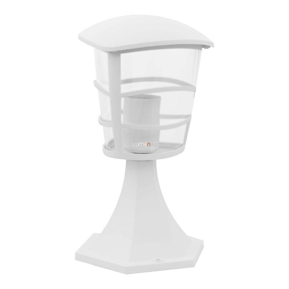 EGLO 93096 Kültéri talpas álló 1xE27 max.60W alumínium fehér, átlátszó műanyag IP44 Aloria
