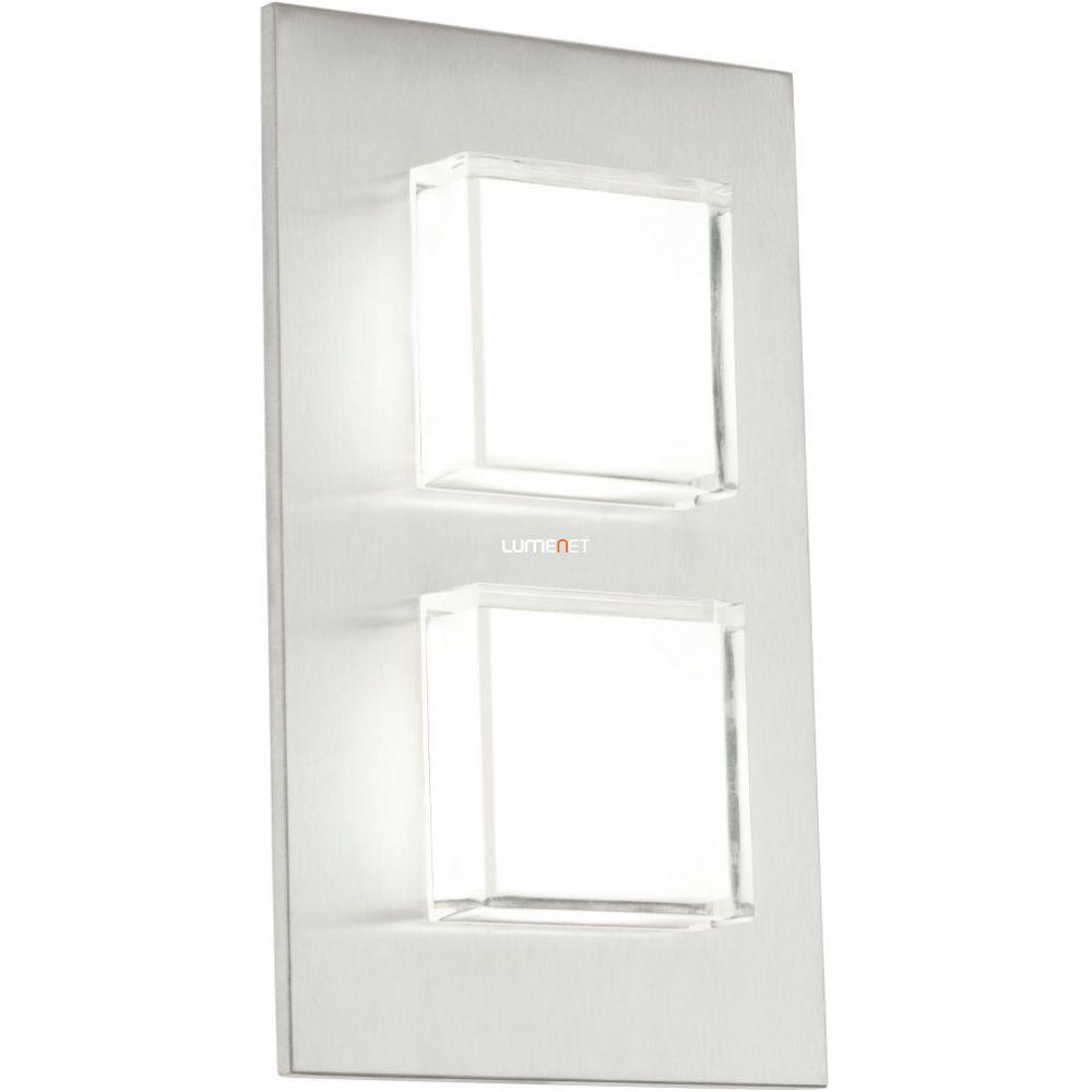 EGLO 93365 Kültéri LED fali 2x2,5W 320lm 15*25*5,5cm nemesacél IP44 Pias