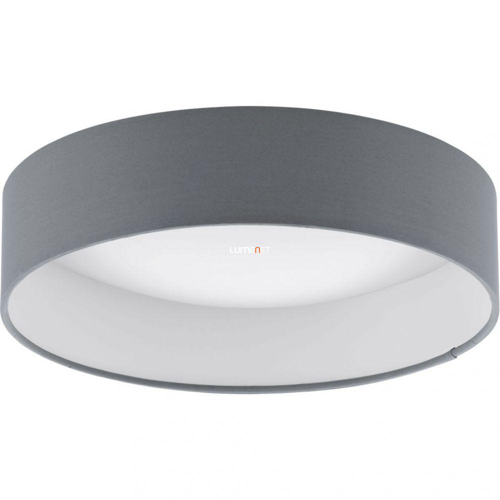 Eglo 93395 Palomaro mennyezeti LED lámpa 12W d:32cm műanyag fehér/textil antracit
