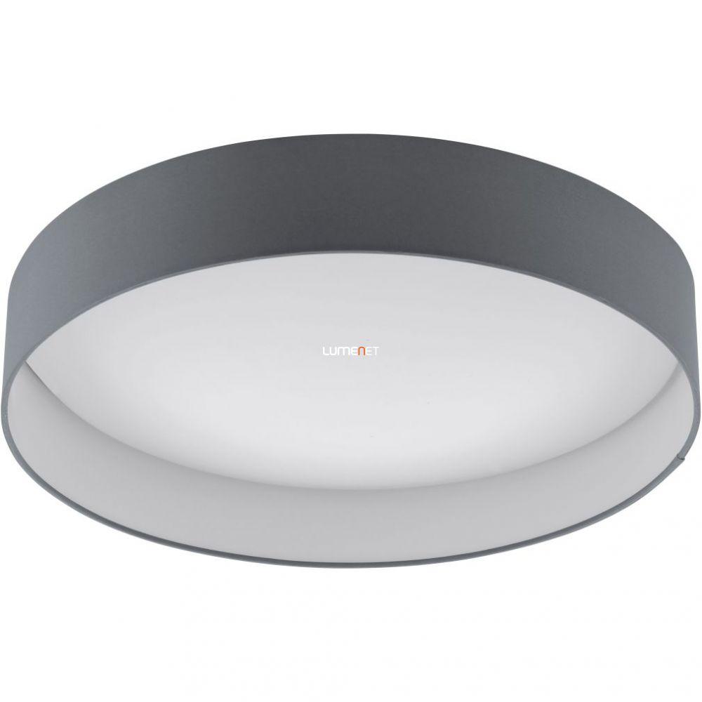 Eglo 93397 Palomaro mennyezeti LED lámpa 24W d:50cm műanyag fehér/textil antracit