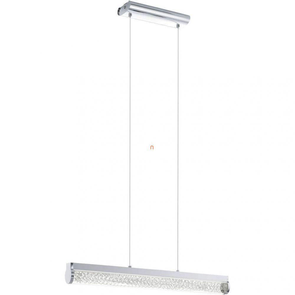 EGLO 93525 LED-es függeszték 24W króm/üveg/alumínium drót Trevelo