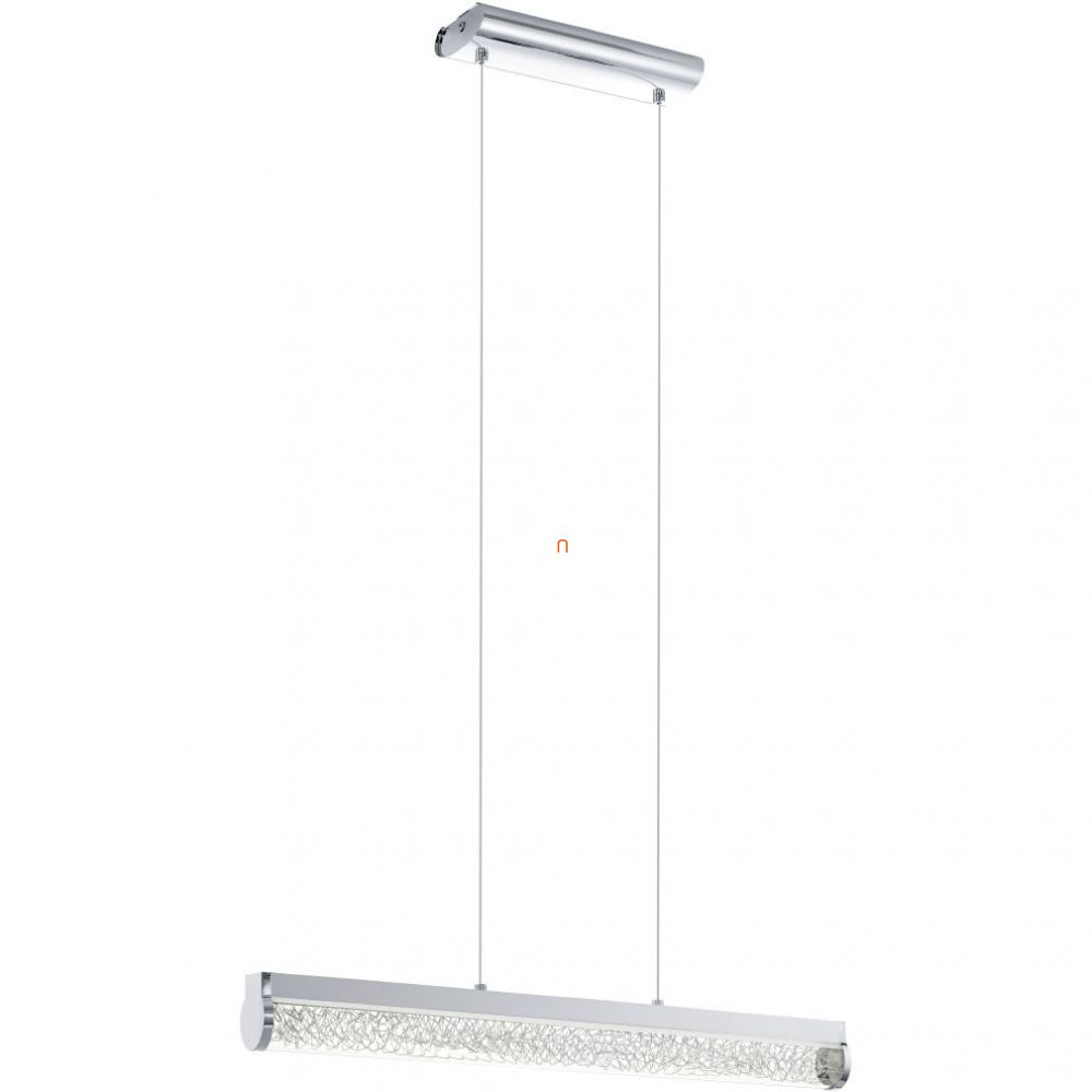 EGLO 93525 LED-es Függeszték 24W króm/üveg, alumínium drót Trevelo