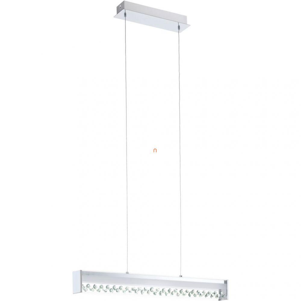 EGLO 93562 LED-es Függeszték 12W króm/kristály 66x6,5cm Filana