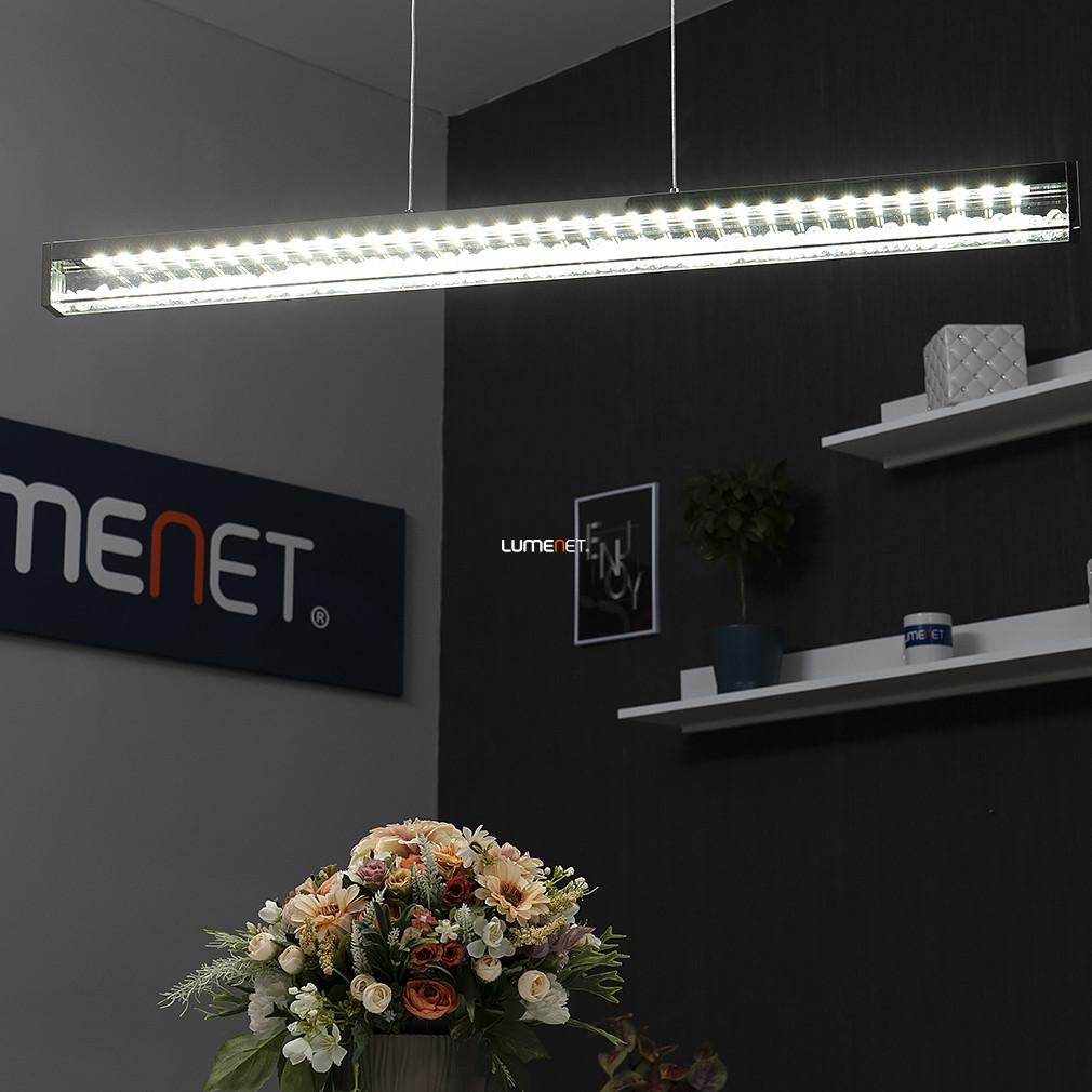 EGLO 93626 LED-es függeszték 6x6W króm/kristály szabályozható Cardito 1