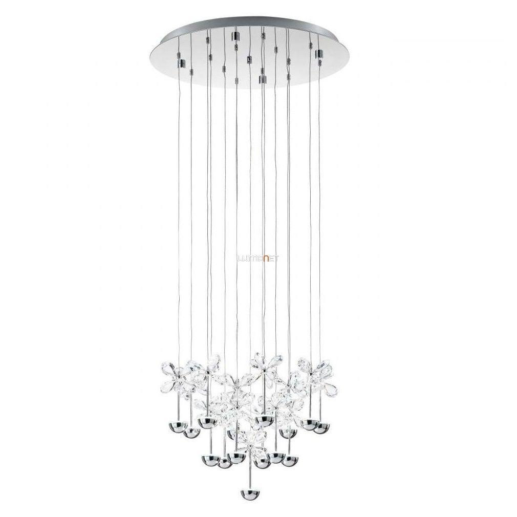 EGLO 93662 LED kristály Függeszték 15x2,5W d:50cm Pianopoli