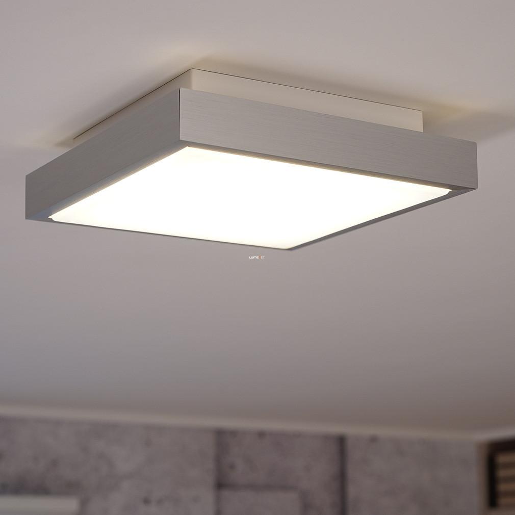 Eglo 93666 mennyezeti LED lámpa 9,7W alumínium/műanyag fehér 28x28cm Idun 1