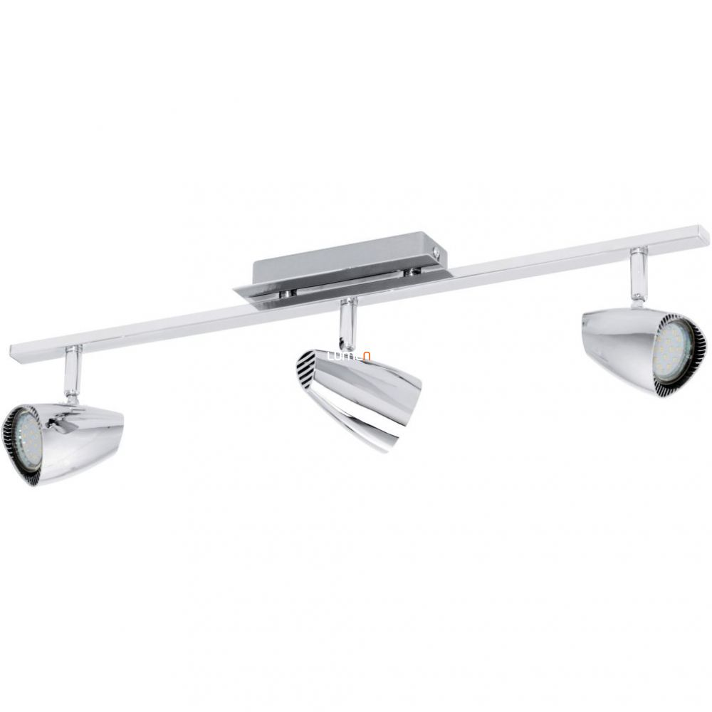 EGLO 93674 LED-es fali/Mennyezeti lámpa GU10 3x3W króm 58,5cm Corbera