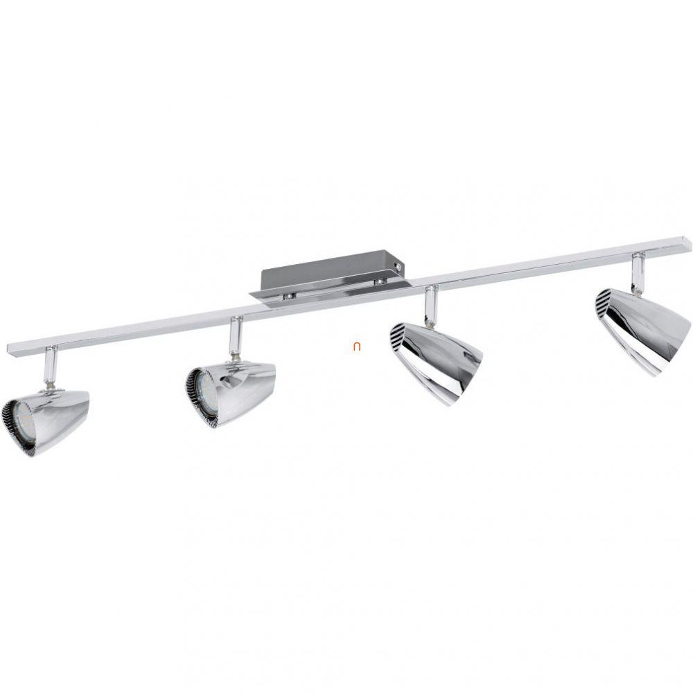 EGLO 93675 LED-es fali/Mennyezeti lámpa GU10 4x3W króm 78cm Corbera