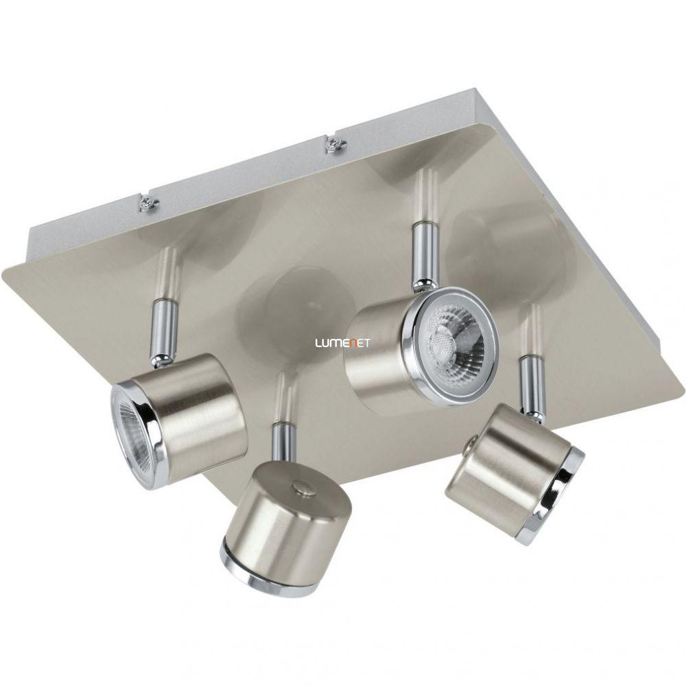 EGLO 93696 LED-es Mennyezeti lámpa 4x5W matt nikkel/króm 24x26cm Pierino